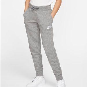 Nike Sportswear Big Kids' (Girls') Pants Grey XL